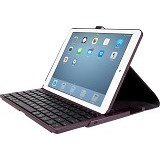 TARGUS Versavu Case with Keyboard for Apple iPad Air [THZ19201AP-50] - Black Cherry - Casing Tablet / Case