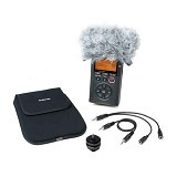 TASCAM AK-DR11C DR Series Accessory Pack for DSLR Connection - Camera and Video Microphone