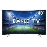 TCL 48 Inch Curved Smart TV LED [L48P1CFS] - Televisi / TV 42 inch - 55 inch