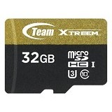 TEAM Memory Card Micro SD Xtreem U3 32GB - Gold/Black (Merchant) - Micro Secure Digital / Micro Sd Card