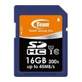 TEAM Memory Card SD Card UHS-1 16GB - Blue (Merchant) - Secure Digital / Sd Card