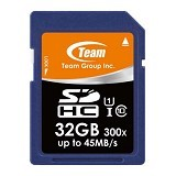 TEAM Memory Card SD Card UHS-1 32GB - Blue (Merchant) - Secure Digital / Sd Card