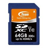 TEAM Memory Card SD Card UHS-1 64GB - Blue (Merchant) - Micro Secure Digital / Micro Sd Card