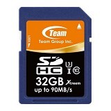 TEAM Memory Card SD Card Xtreem U3 32GB - Blue (Merchant) - Secure Digital / Sd Card
