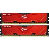 TEAM Vulcan Memory PC 2 x 4GB DDR3 PC-12800 [TLRED38G1600HC9DC01] - Memory Desktop Ddr3