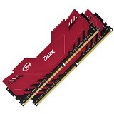 TEAM Memory PC Xtreem Dark Red Heatspreader 2x4GB DDR4 PC4-24000 [TDRED48G3000HC16ADC01] - Memory Desktop Ddr4