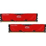 TEAM Vulcan Memory PC 2x 8GB DDR3 PC-12800 [TLRED316G1600HC9DC01] - Memory Desktop Ddr3