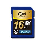 TEAM SDHC 16GB - Class 10 - Secure Digital / SD Card