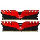 TEAM T-Force Dark 2x8GB DDR4 PC4-24000 [TDRED416G3000HC16CDC01] - Red - Memory Desktop Ddr4