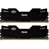 TEAM Xtreem Dark Series Memory PC 2x4GB DDR4 PC4-19200 [TDKED48G2666HC15ADC01] - Memory Desktop Ddr4