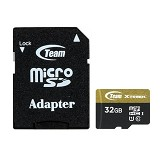 TEAM Xtreem Micro SDHC UHS-1 32GB - Class 10 - Micro Secure Digital / Micro SD Card