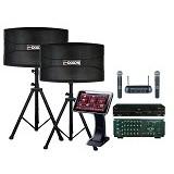 TECHNIC AUDIO Sound System Karaoke Paket 4 (Merchant) - Karaoke System