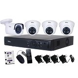 TELVIEW AHD Camera Package 4-Channel (Merchant) - Cctv Camera