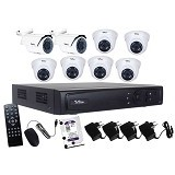 TELVIEW AHD Camera Package 8 Channel [FT801] - Cctv Camera