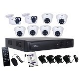 TELVIEW AHD Camera Package 8-Channel (Merchant) - Cctv Camera