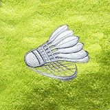 TERRY PALMER Badminton Edition - Light Green (V) - Seprai & Handuk