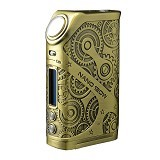 TESLA Steampunk Nano Mod 120W Authentic - Bronze - Vape & Shisha