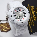 TETONIS Watch [T2299] - White - Jam Tangan Wanita Fashion