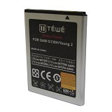 TEWE Battery Double Power for Samsung Galaxy Young 2/G310H 1050mAh - Handphone Battery