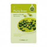 THE FACE SHOP Natural Mask - Mungbeans (Merchant) - Masker Wajah