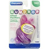 THE FIRST YEARS Infant Pacifier for Girls [Y4764 ] - Pink Purple - Dot Bayi / Pacifier & Teethers
