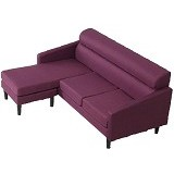 THE OLIVE HOUSE Heimi Kain Sofa - Purple (Merchant) - Kursi Sofa