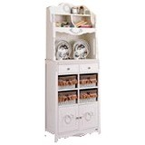 THE OLIVE HOUSE Lemari Rosemary 8 Susun Hutch (Merchant) - Drawer