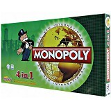 THE TOY SHOP 4in1 Monopoly Game [GAM-0229] - Board Games