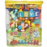 THE TOY SHOP Blocks Tas 51Pcs [589-28-BBB-0173] - Learning and Growing