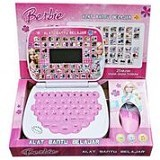 THE TOY SHOP Mini Laptop 4 Bahasa Barbie With Mouse [ELE-0168] - Electronic Learning