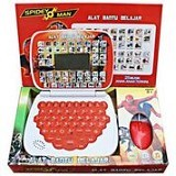 THE TOY SHOP Mini Laptop 4 Bahasa Spiderman With Mouse [ELE-0162] - Electronic Learning