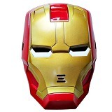 THE TOY SHOP Topeng Ironman Lampu [BOT-0075] - Mainan Kostum dan Aksesoris