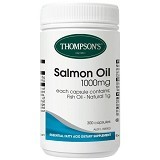 THOMPSONs Premium Salmon Oil Plus 1000mg - Suplement Pencegah Penyakit Jantung / Kolesterol
