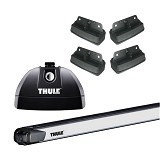THULE Roof Rack Set 3 for Suzuki Swift Hatchback 2010-Now (Merchant) - Bagasi Mobil