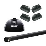 THULE Roof Rack Set 4 for Suzuki Swift Hatchback 2010-Now (Merchant) - Bagasi Mobil