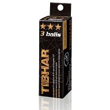 TIBHAR 3-Star Ball (3-Pack) - White - Bola Pingpong