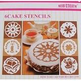 TIBRISHOP 6 Pieces Cake Stencils (Merchant) - Alas Piring / Tatakan / Placemat