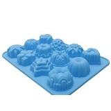 TIBRISHOP Cetakan Kue - Blue (Merchant) - Cetakan Kue