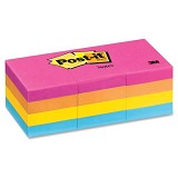 3M Color Notes 653-AN - Neon Colours - Sticky Notes