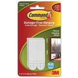 3M Command Medium Picture Hanging Strip - Gantungan Serbaguna