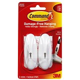 3M Command Medium Wire Hook - Gantungan Serbaguna