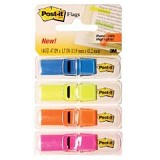3M Post-it Small Size Flags 683-4ABX - Pastel Colors - File Indeks