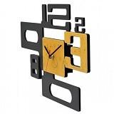 TIK TOK BOX Jam Dinding 8 Gold - Jam Dinding