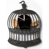 TIK TOK BOX Jam Dinding Bird Cage - Jam Dinding