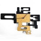 TIK TOK BOX Jam Dinding MWC 4 Gold - Jam Dinding