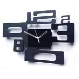 TIK TOK BOX Jam Dinding MWC 8 Black