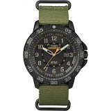 TIMEX Expedition Gallatin Camping Jam Tangan Pria [CSI-TW4B036009J] - Green (Merchant) - Jam Tangan Pria Fashion