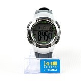 TIMEX Sports Digital Tone Resin Strap Watch [T5K238] - Gray - Jam Tangan Pria Sport