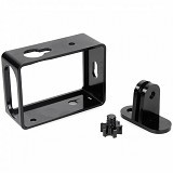 TMC Alumunium Side Frame for Xiaomi Yi [HR285] - Black (Merchant) - Camcorder Mounting