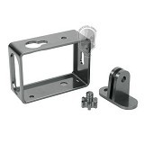 TMC Alumunium Side Frame for Xiaomi Yi [HR285] - Silver (Merchant) - Camcorder Mounting